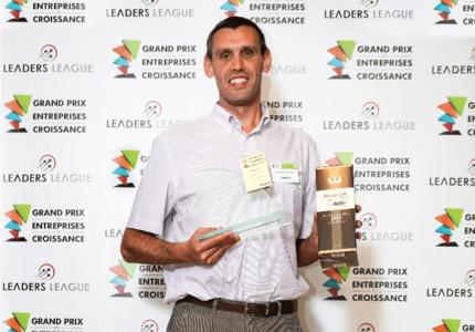 Carbonex primé lors de l'édition 2015 du Grand Prix des Entreprises de Croissance