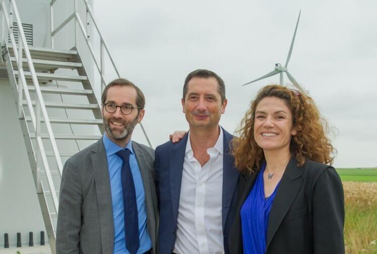 RIVE Private Investment participe à l'inauguration du parc éolien Énergie du Gâtinais
