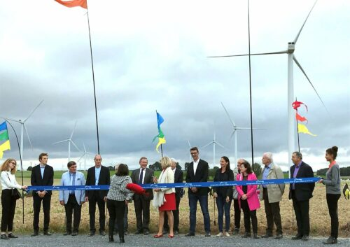 RIVE Private Investment attends the inauguration of the Douiche wind farm